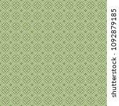 green geometric pattern in... | Shutterstock . vector #1092879185