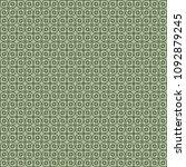 green geometric pattern in... | Shutterstock . vector #1092879245