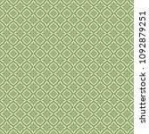 green geometric pattern in... | Shutterstock . vector #1092879251