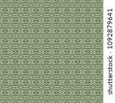 green geometric pattern in... | Shutterstock . vector #1092879641