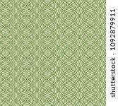 green geometric pattern in... | Shutterstock . vector #1092879911