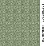 green geometric pattern in... | Shutterstock . vector #1092881921