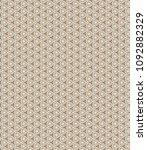 retro geometric pattern in... | Shutterstock . vector #1092882329