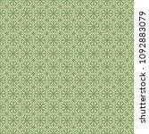 green geometric pattern in... | Shutterstock . vector #1092883079