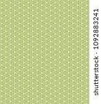 green geometric pattern in... | Shutterstock . vector #1092883241