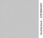 seamless abstract black texture ... | Shutterstock . vector #1092884405