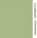 green geometric pattern in... | Shutterstock . vector #1092884771