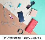 women's accessories and gadgets ... | Shutterstock . vector #1092888761