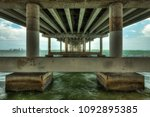 high dynamic range image of the ... | Shutterstock . vector #1092895385