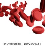 blood and artery in... | Shutterstock . vector #1092904157