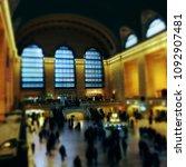 new york  ny  usa   nov 9 2015  ... | Shutterstock . vector #1092907481
