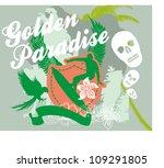 big wave surfer | Shutterstock .eps vector #109291805
