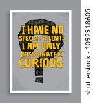 inspiring creative typography... | Shutterstock .eps vector #1092918605
