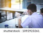 soft laboratory of chemistry... | Shutterstock . vector #1092923261