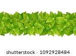 vector horizontal seamless... | Shutterstock .eps vector #1092928484