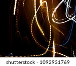 color magic line. abstract... | Shutterstock . vector #1092931769