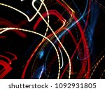 color magic line. abstract... | Shutterstock . vector #1092931805