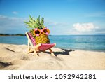 summer lifestyle image of young ... | Shutterstock . vector #1092942281