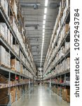 warehouse and distribution... | Shutterstock . vector #1092943784