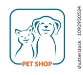 pet shop  icon. | Shutterstock . vector #1092950534