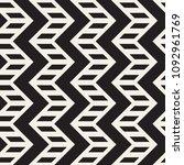 vector seamless zigzag line... | Shutterstock .eps vector #1092961769