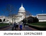 washington dc  usa  march  1990 ... | Shutterstock . vector #1092962885