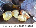 happiness beautiful citrine ... | Shutterstock . vector #1092963701