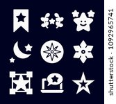 star icon set   filled... | Shutterstock .eps vector #1092965741