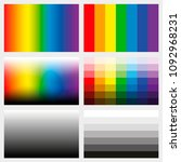 shade tabs. set of color... | Shutterstock .eps vector #1092968231