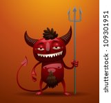 Little Red Devil  Vector 01