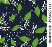seamless pattern with vector... | Shutterstock .eps vector #1093027181