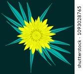 creative flower stylization....   Shutterstock .eps vector #1093028765