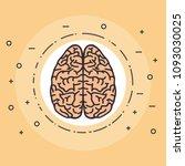 creative brain idea concept | Shutterstock .eps vector #1093030025