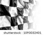 checkered black and white... | Shutterstock . vector #1093032401