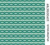 green geometric pattern in... | Shutterstock . vector #1093058789