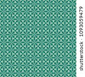 green geometric pattern in... | Shutterstock . vector #1093059479