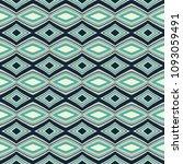 green geometric pattern in... | Shutterstock . vector #1093059491