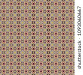 colorful geometric pattern in... | Shutterstock . vector #1093060667