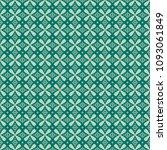 green geometric pattern in... | Shutterstock . vector #1093061849