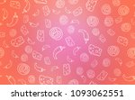 light pink vector cover with... | Shutterstock .eps vector #1093062551