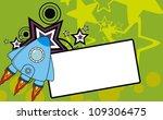 spaceship background copysapace ...   Shutterstock .eps vector #109306475