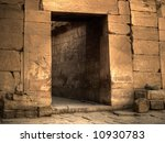 Ancient Egyptian Tomb Doorway...