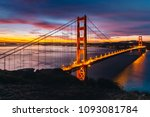 sunrise colorful time golden... | Shutterstock . vector #1093081784
