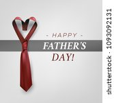 fathers day gift post greeting... | Shutterstock .eps vector #1093092131