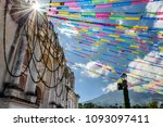 one of oldest catholic churches ... | Shutterstock . vector #1093097411