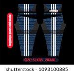 leggings pants fashion... | Shutterstock .eps vector #1093100885