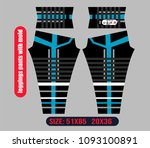 leggings pants fashion... | Shutterstock .eps vector #1093100891
