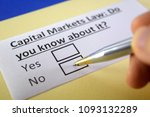 capital markets law  do you... | Shutterstock . vector #1093132289