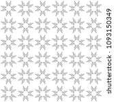 seamless abstract black texture ... | Shutterstock . vector #1093150349