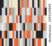 bauhaus pattern background... | Shutterstock .eps vector #1093155845